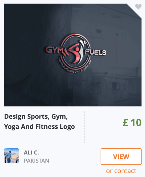 Personal Trainer Logo Image