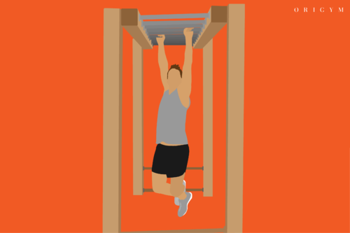 best forearm exercises: monkey bars