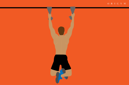 best forearm exercises: towel hang