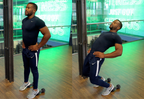 how to do sissy squats image