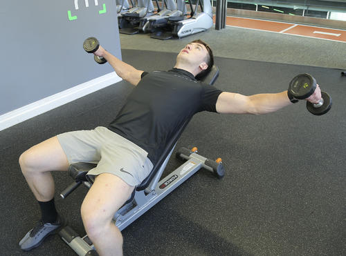 incline lateral raise top position image
