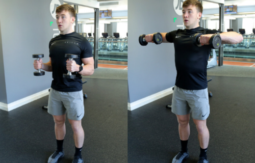 how to do a bent arm lateral raise image