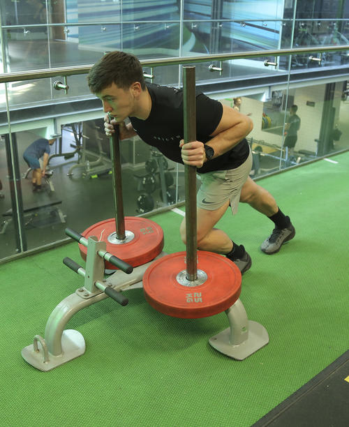 prowler sled push