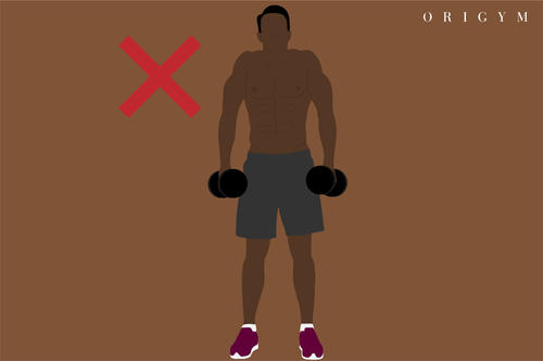 lateral raise common mistakes image