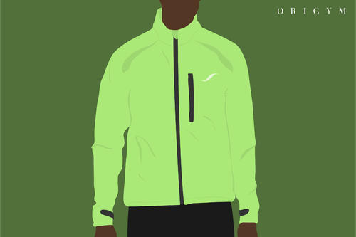 winter cycling jacket graphic