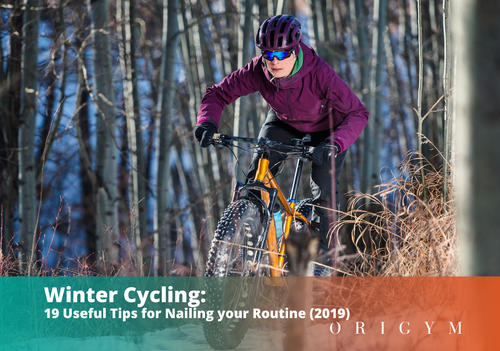 winter cycling header image