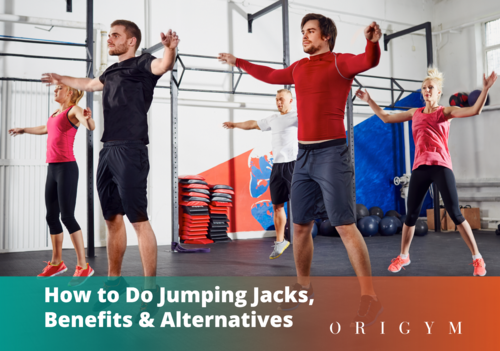 how to do jumping jacks banner image