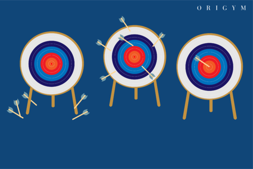 hitting your targets graphic