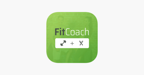 fit coach personal trainer software logo