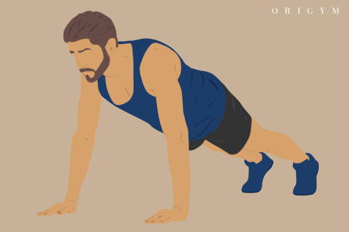 press up graphic