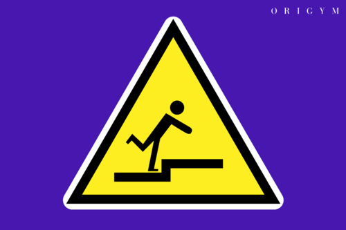 risk of falling image
