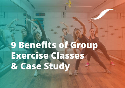 benefits of group exercise classes header image