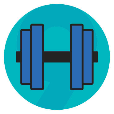 dumbbell challenge graphic