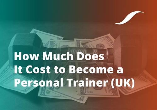 How Much Does It Cost to Become a Personal Trainer UK banner image