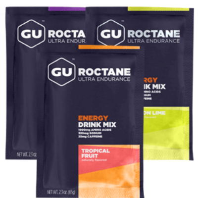 GU supplements for running recovery