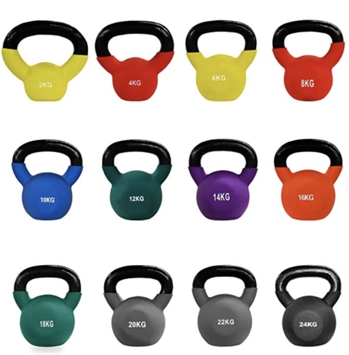Kettlebells for personal trainers image