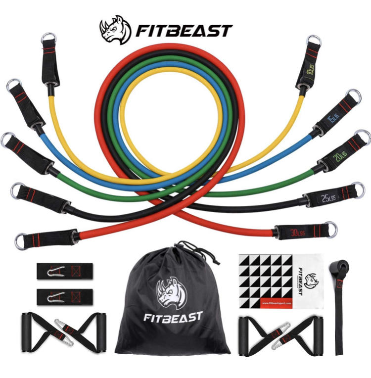 resistance tubes image gifts for personal training clients