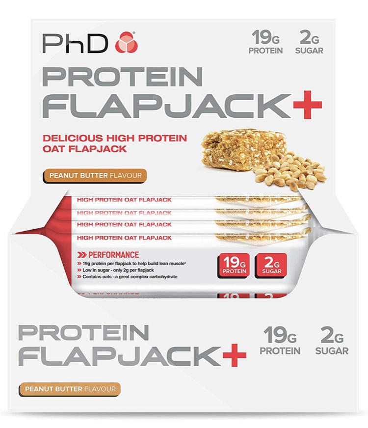 personal training gifts for clients protein flapjack image