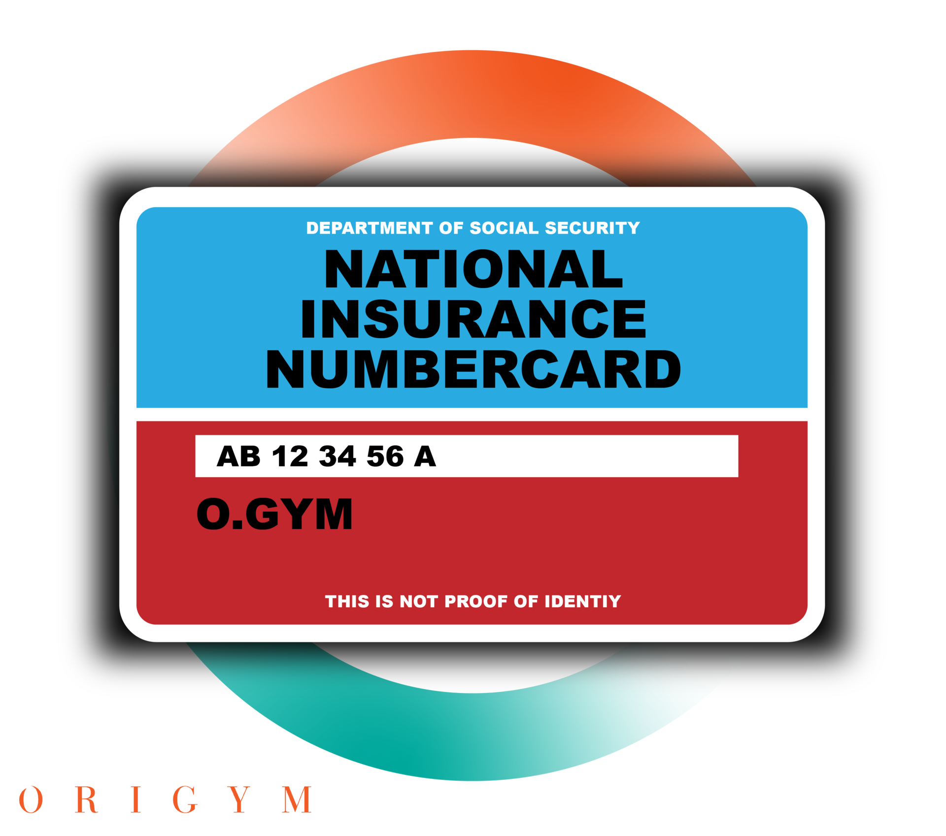 Personal Trainer Business Registration graphic of national insurance