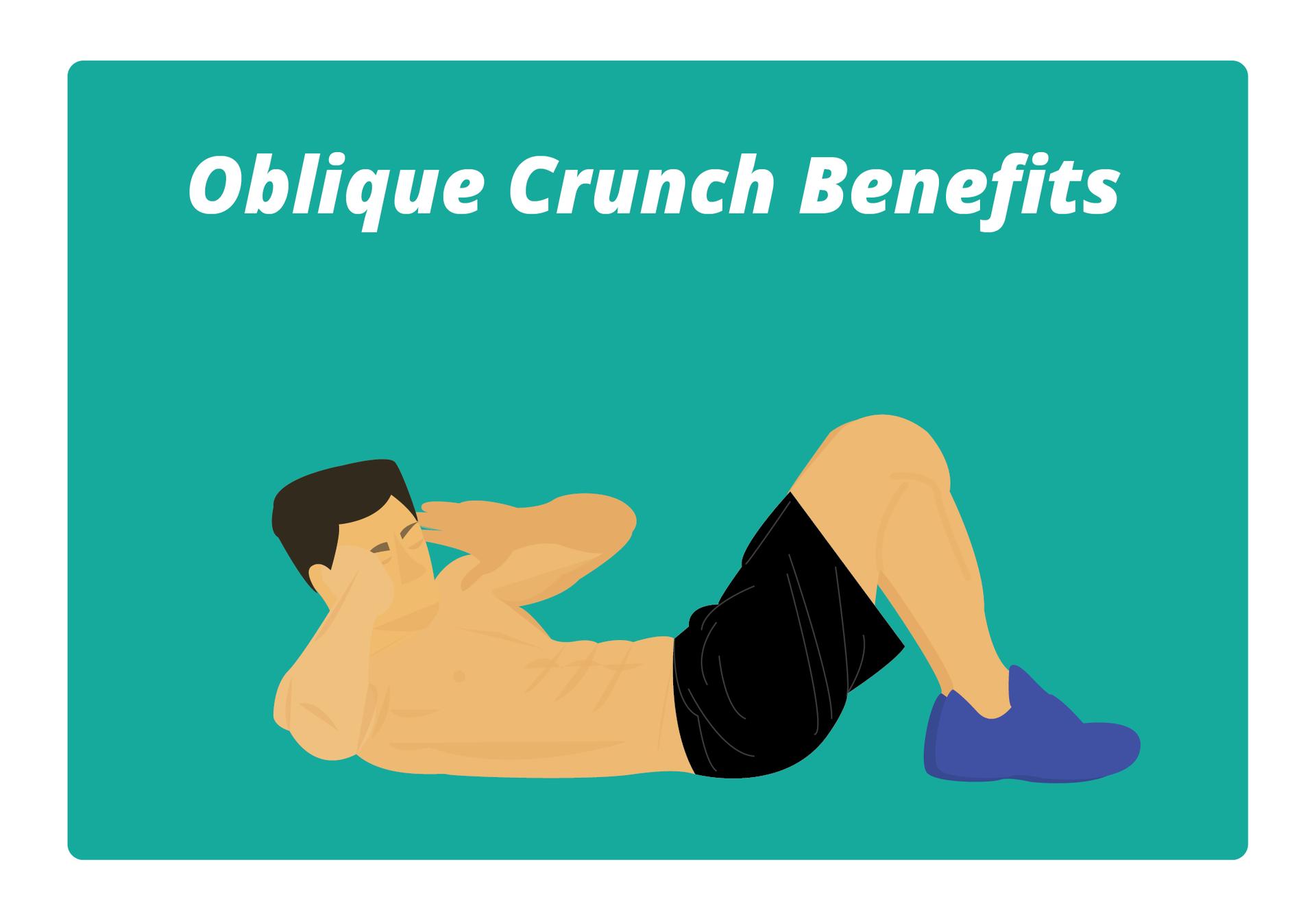 Oblique Crunch Benefits image