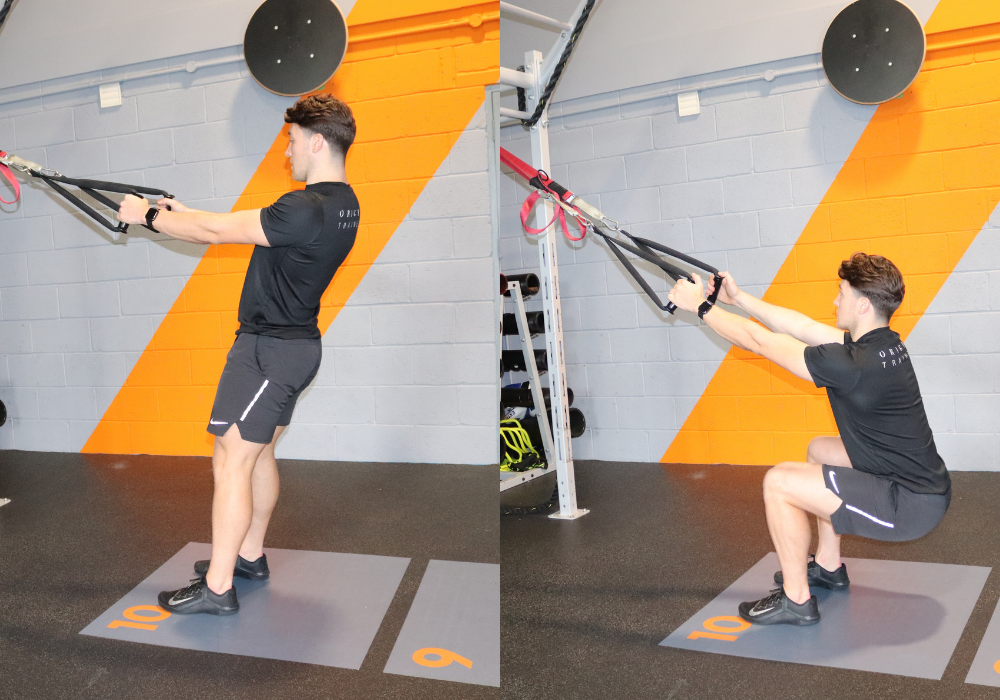 trx stretching exercises